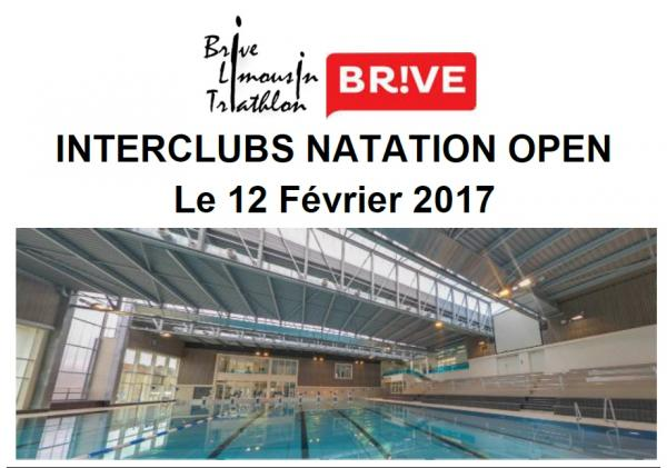 2017 - Interclubs Natation Open