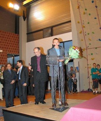 Inauguration du Complexe Sportif de la ville de Quiévrechain
