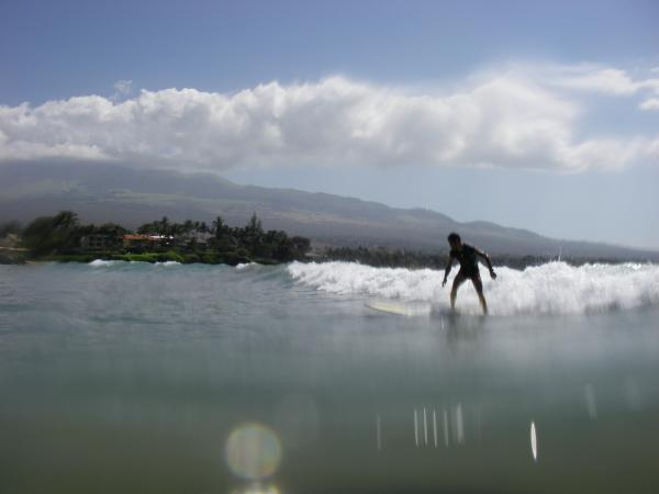 Surf à Maui