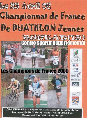 affiche du championnat de France