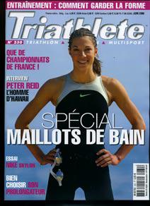 couverture du magasine triathlete
