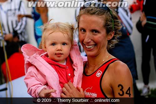 Adèle et moi, arrivée chpts de France Belfort 2009