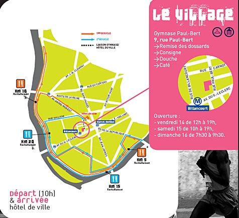 Semi marathon de Boulogne novembre 2008