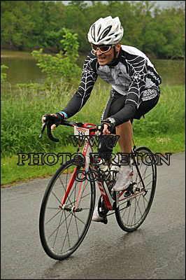 Franck en route vers le final à Nevers