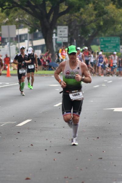 Nico sur le Marathon à Hawaï 2015