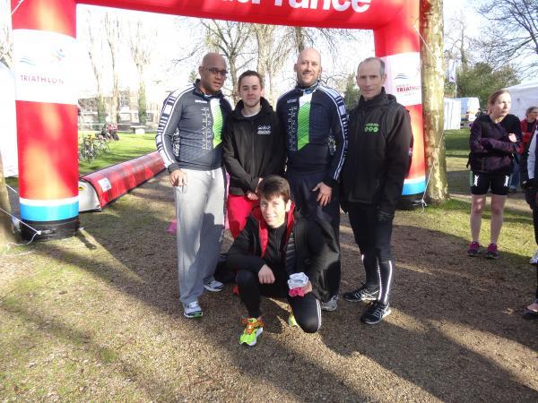 L'équipe de Draveil présente à Fresnes