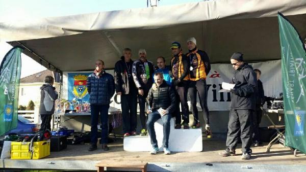 Le podium VH au Run and Bike de Sénart