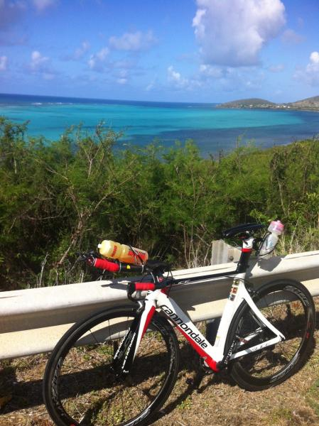 Le Slice partie vélo ouest de l'île