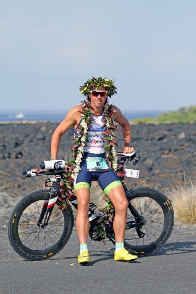 Fred Van Lierde vainqueur à l'Ironman d'Hawaï