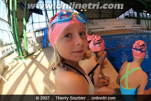 Piscine - jeunes - fete du tri 2007