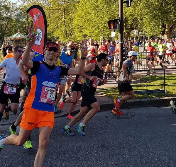 Meneur d'allure Annecy Marathon