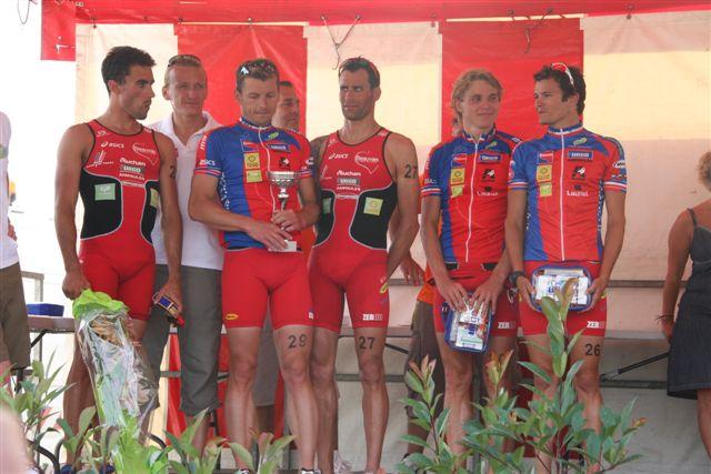 Podium par Equipe - Beauvais
