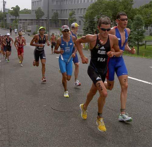 Course à pied aux Championnats du Monde 2005