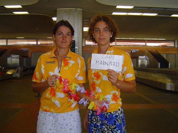 Christelle Dalle et Charlotte Bourhis