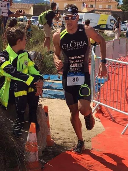 jeremy Morel triathlon des salins 2016