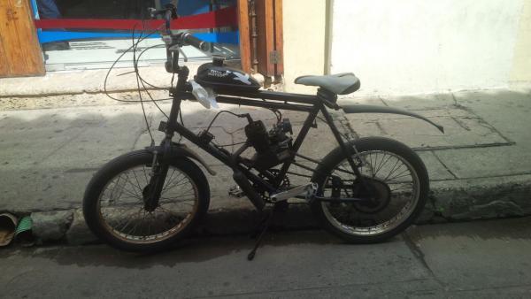 Bicyclette moteur Colombie