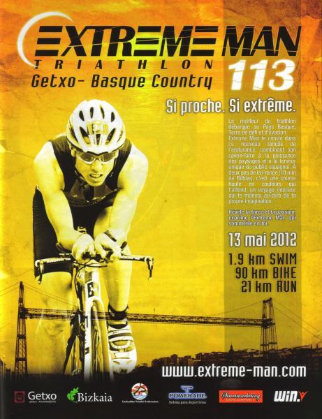 Affiche ExtremeMan 113 Getxo