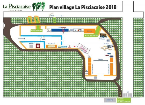 Plan village Pisciacaise 2018