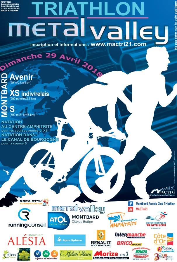 Metal Valley Triathlon Montbard 2018