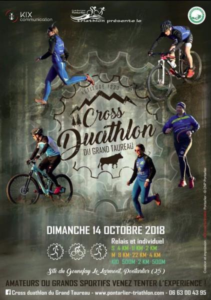 Cross Duathlon du grand taureau 2018