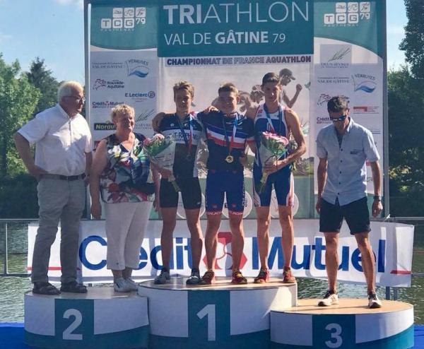 Tao Champion de France Aquathlon 2018