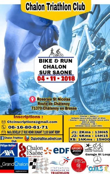 Bike & Run Chalon 2018