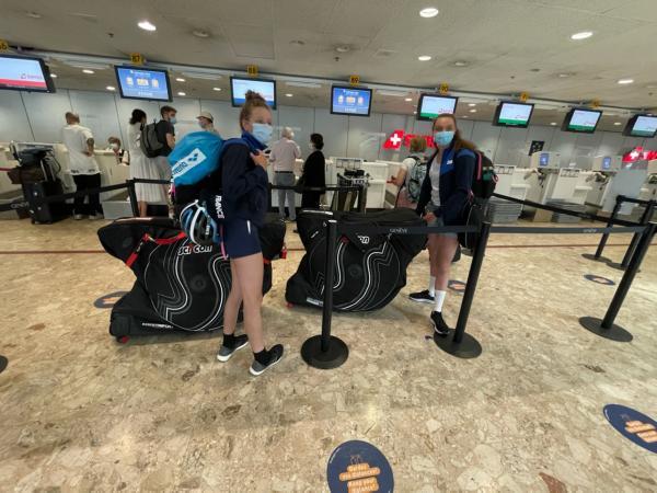 Ilona et Candice, en route pour le championnat d'Europe!
