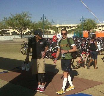 Bike checking - IM AZ 2009