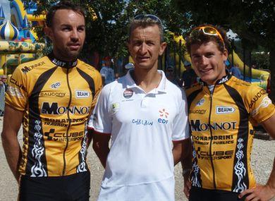 Triathlon Sprint CLM de Chour 2010