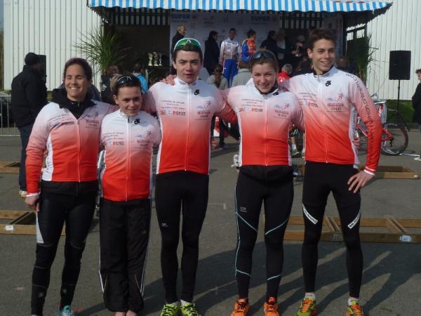 champions de Vendée Duathlon 2013