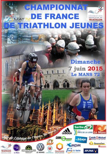 Championnat de France Jeunes Triathlon 2015