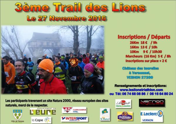 Trail des Lions de Vernon 27/11/16 14761841740