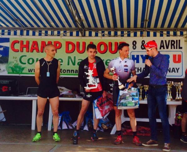 Podium 2017 Trail du Champ Loup