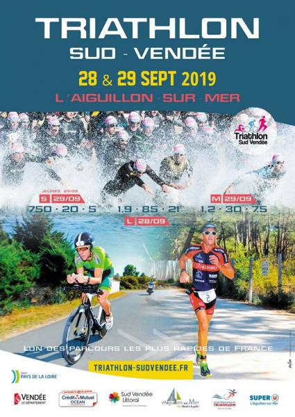 Triathlon Sud Vendée 28 & 29 Sept. 2019
