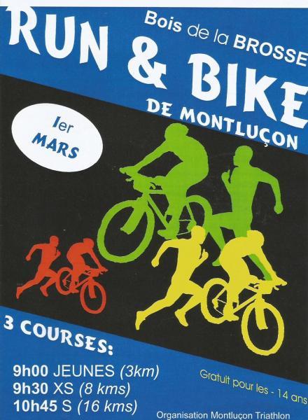 affiche Run & Bike