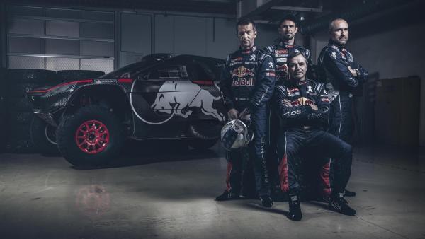 Team Peugeot Dakar