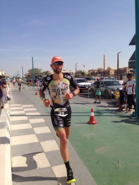 Toumy Degham 16è sur l'Half de Dubai