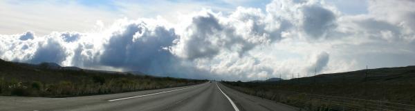 Saddle Road - 2000m d'altitude entre 2 volcans.