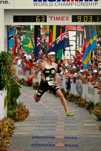 Finish line Kona '11