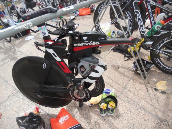 Le Bike arrive à T2 avant moi