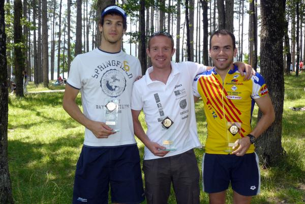 Podium triathlon Revel