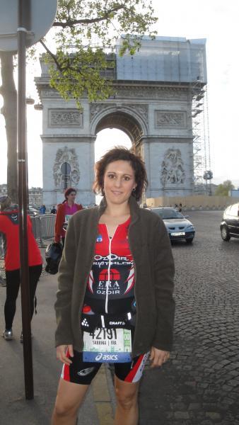 Au départ du Marathon de PARIS