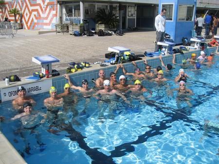 Entraînement natation