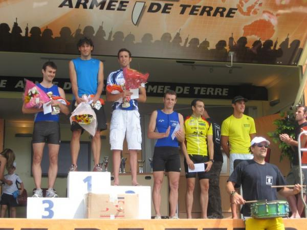 Podium Aquathlon de Marseille