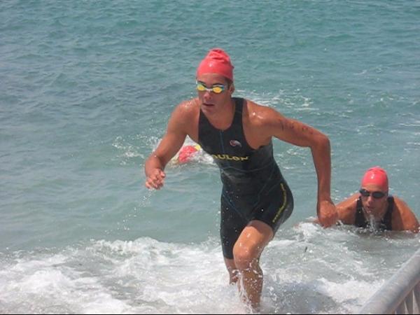 Romain sortie natation 6 Fours