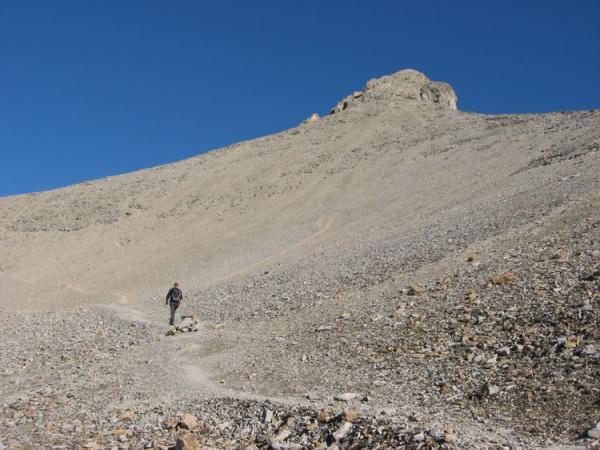 Ascension du Mont Pelat