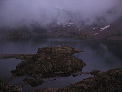 Lac Rabuons le soir