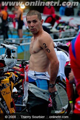 Renaud avant course Belfort 2009