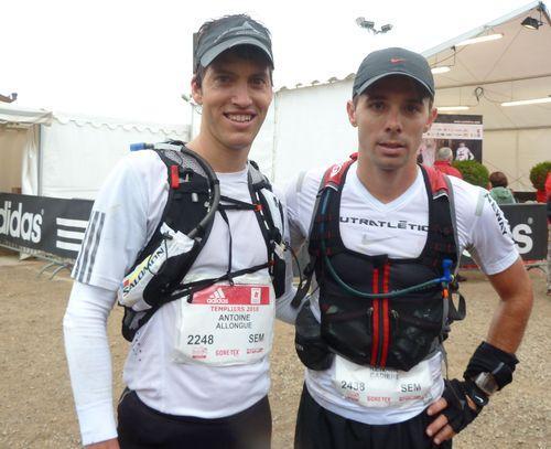 Renaud et Antoine finishers