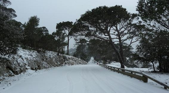 Route du Fort la croix Faron